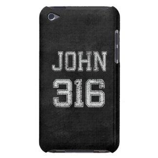 John 3:16 Christian Football Sports Fan iPod Touch Case-Mate Case
