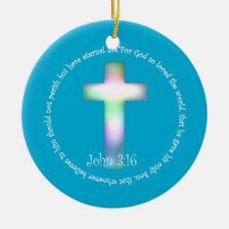 John 3:16 christmas ornament