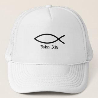 John 3:16 Fish Trucker Hat