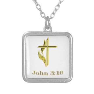 John 3 16 Gifts Personalized Necklace