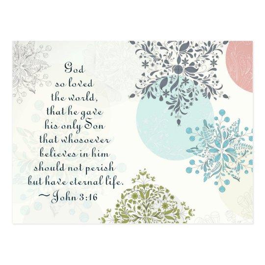 John 3:16 God so Loved the World, Christmas