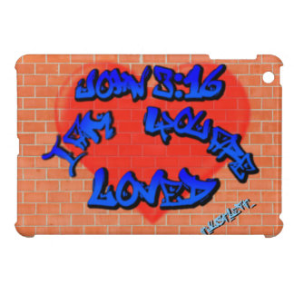 John 3:16 Graffiti Cover For The iPad Mini