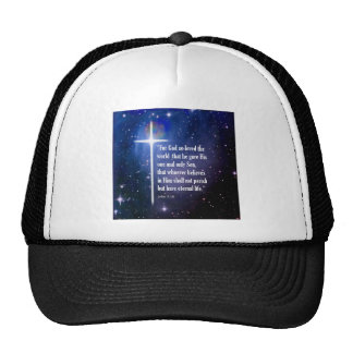 John 3:16 trucker hats