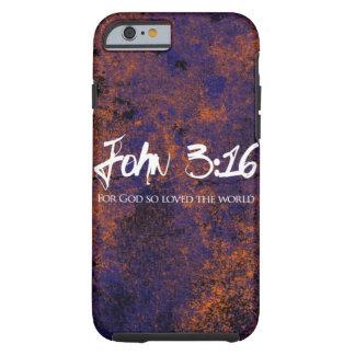 John 3:16 iPhone 6 case grunge Tough iPhone 6 Case