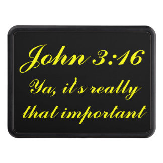 John 3:16 It's That Important Hitch Covers