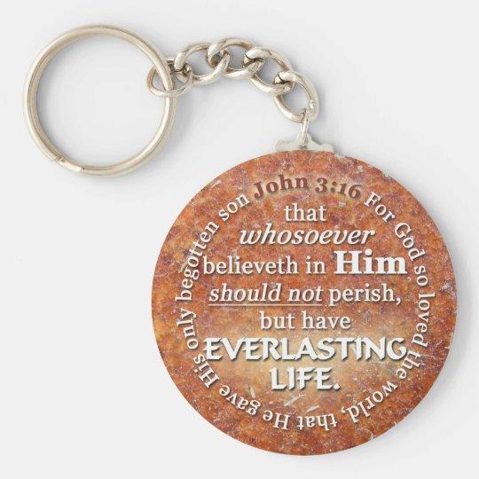 John 3:16 KJV Everlasting Life Bible Verse Quote