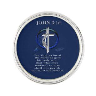 John 3:16 Lapel Pins