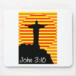 John 3 16 mouse pad