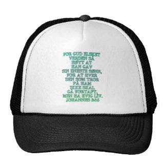 John 3 16 Norwegian Mesh Hat