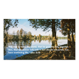 John 3 16 Personal Business Card Business Card Template