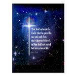 John 3:16 postcard
