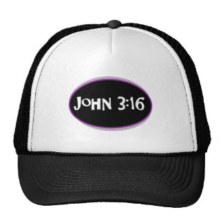 John 3:16 Purple Trucker Hat