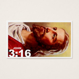 John 3:16 revised business card