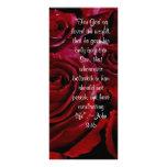 John 3:16 roses rack card