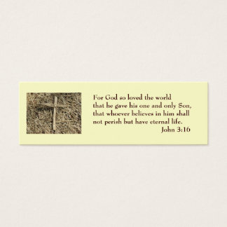 John 3:16 Salvation Card