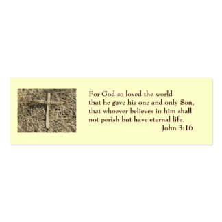 John 3:16 Salvation Card Pack Of Skinny Business Cards