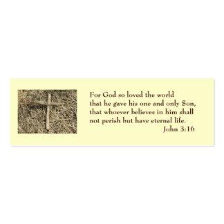 John 3 16 Salvation Card Business Cards
