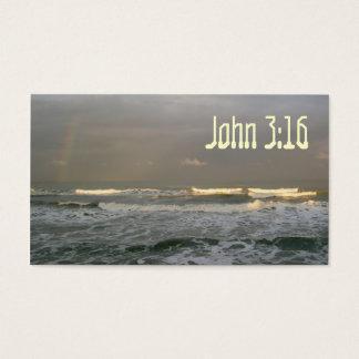 John 3:16 Scripture Memory Card, Sunset