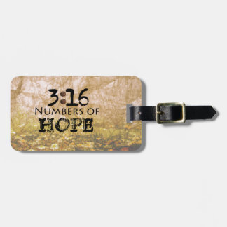John 3:16, Words of Hope Luggage Tag