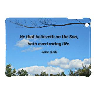John 3:36 He that believeth on the Son... iPad Mini Case