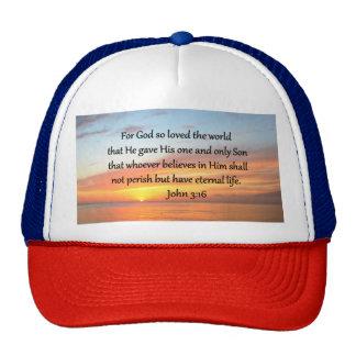 JOHN 3:36 SUNRISE OVER THE OCEAN PHOTO CAP