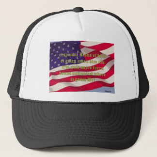 John 3:3 trucker hat