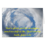 John 4:24 card