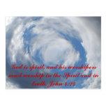 John 4:24 postcards