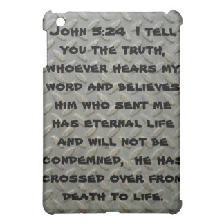 John 5:24 Diamond Plated Speck iPad Case.