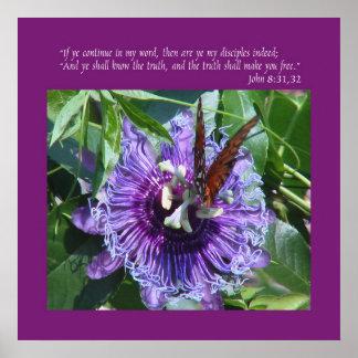 John 8 31:32 Print/Poster