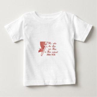 John 8:36 infant T-Shirt