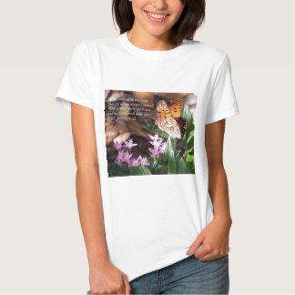 John 8 Gulf Fritillary Butterfly Tshirt