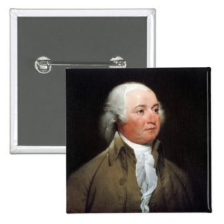 John Adams 15 Cm Square Badge