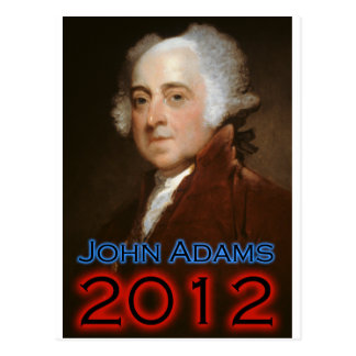 John Adams 2012 Poster Postcard