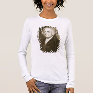 John Adams, 2nd President of the United States of Long Sleeve T-Shirt