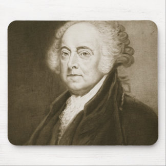 John Adams, 2nd President of the United States of Mouse Mat