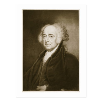 John Adams, 2nd President of the United States of Postcard