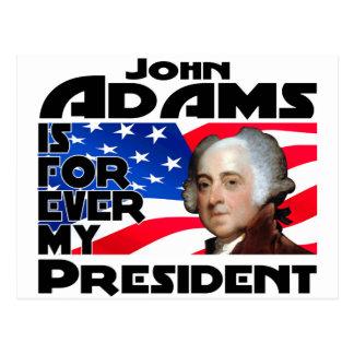 John Adams Forever Postcard