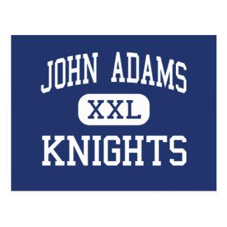 John Adams Knights Middle Edison New Jersey Postcard