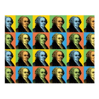 John Adams Pop-Art Post Card