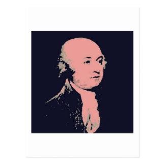 John Adams Postcard