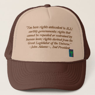 John Adams quote hat