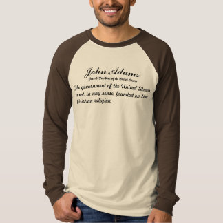 John Adams Quotes T-Shirt