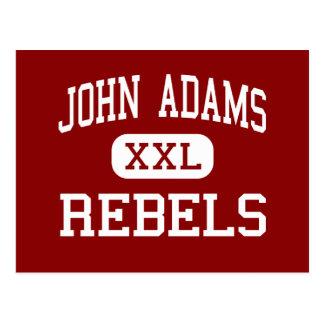 John Adams - Rebels - High School - Cleveland Ohio Postcard