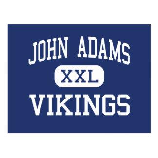 John Adams Vikings Middle Santa Monica Postcard