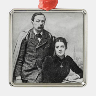 John Addington Symonds  and His Daughter, 1891 Christmas Ornament