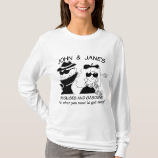 John and Janes Disguises and Gasoline T-Shirt