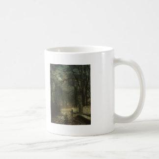 John Atkinson Grimshaw- A moonlit lane Mugs