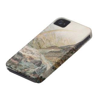 John Atkinson Grimshaw-A Mountain Road Flood Time Case-Mate iPhone 4 Case