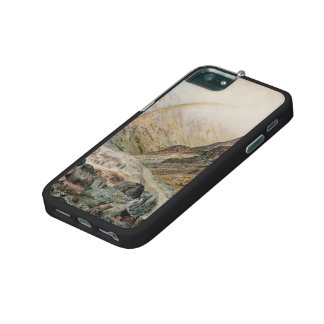 John Atkinson Grimshaw-A Mountain Road, Flood Time iPhone 5/5S Case